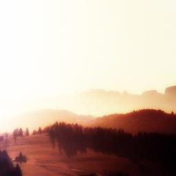Landschaft Eins.
