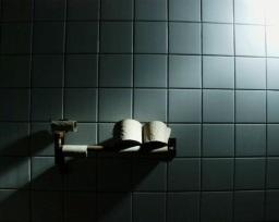 Ein Satz über Toilettenpapier.