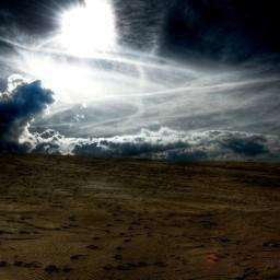 Tränen in der Sahara.