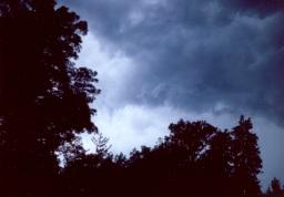 Ein Sturm zieht auf.
