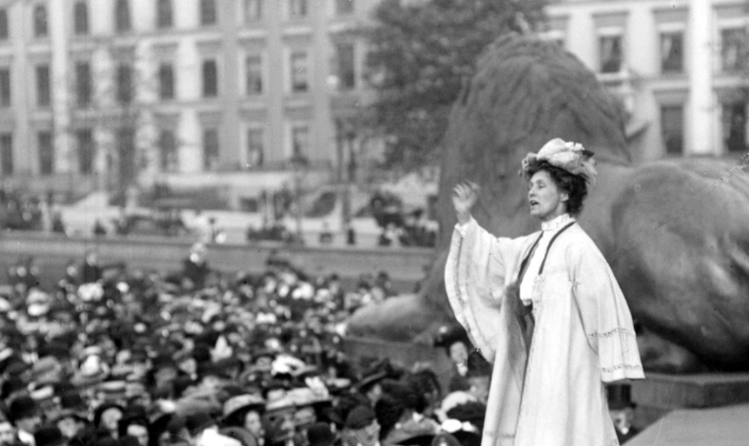 Emmeline Pankhurst | Photo from the BBC's Picture Library (CC BY-NC 2.0)