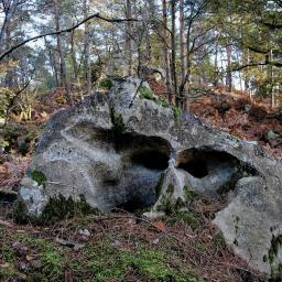 Nur ein Felsbrocken.